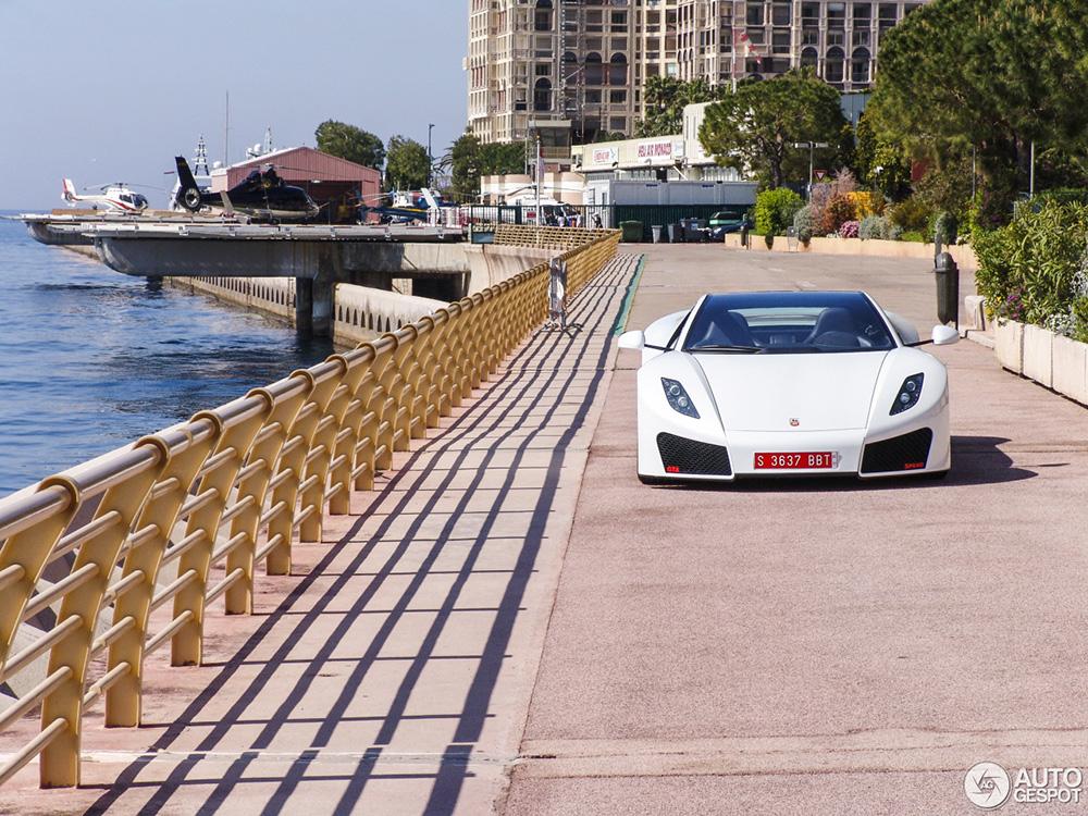 Monaco gekte gaat beginnen; Spania GTA Spano gespot
