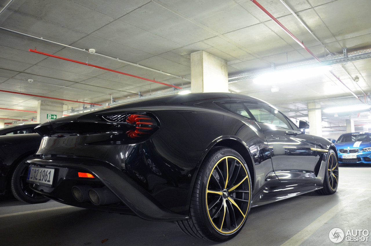 Aston Martin Vanquish Zagato doet zelfs de Nürburgring aan