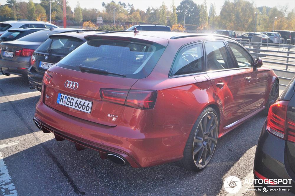 Audi RS6 Avant neemt je in de maling