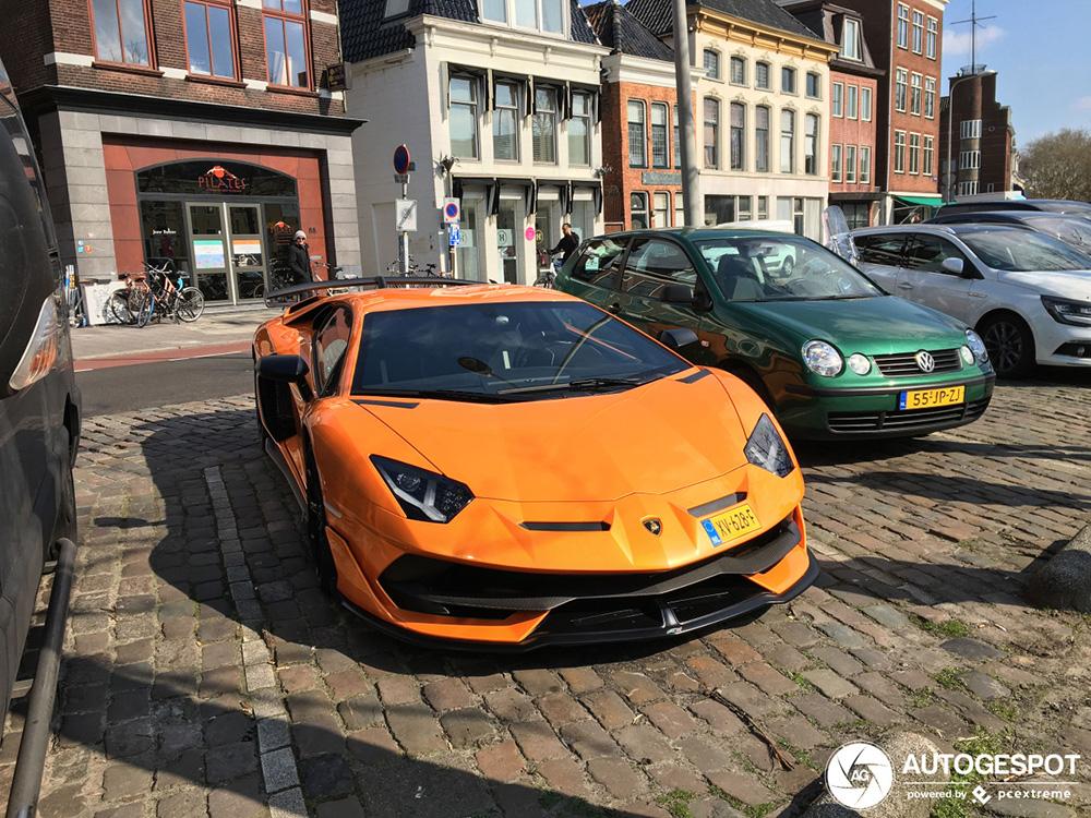 Gespot: tweede Nederlandse Lamborghini Aventador SVJ