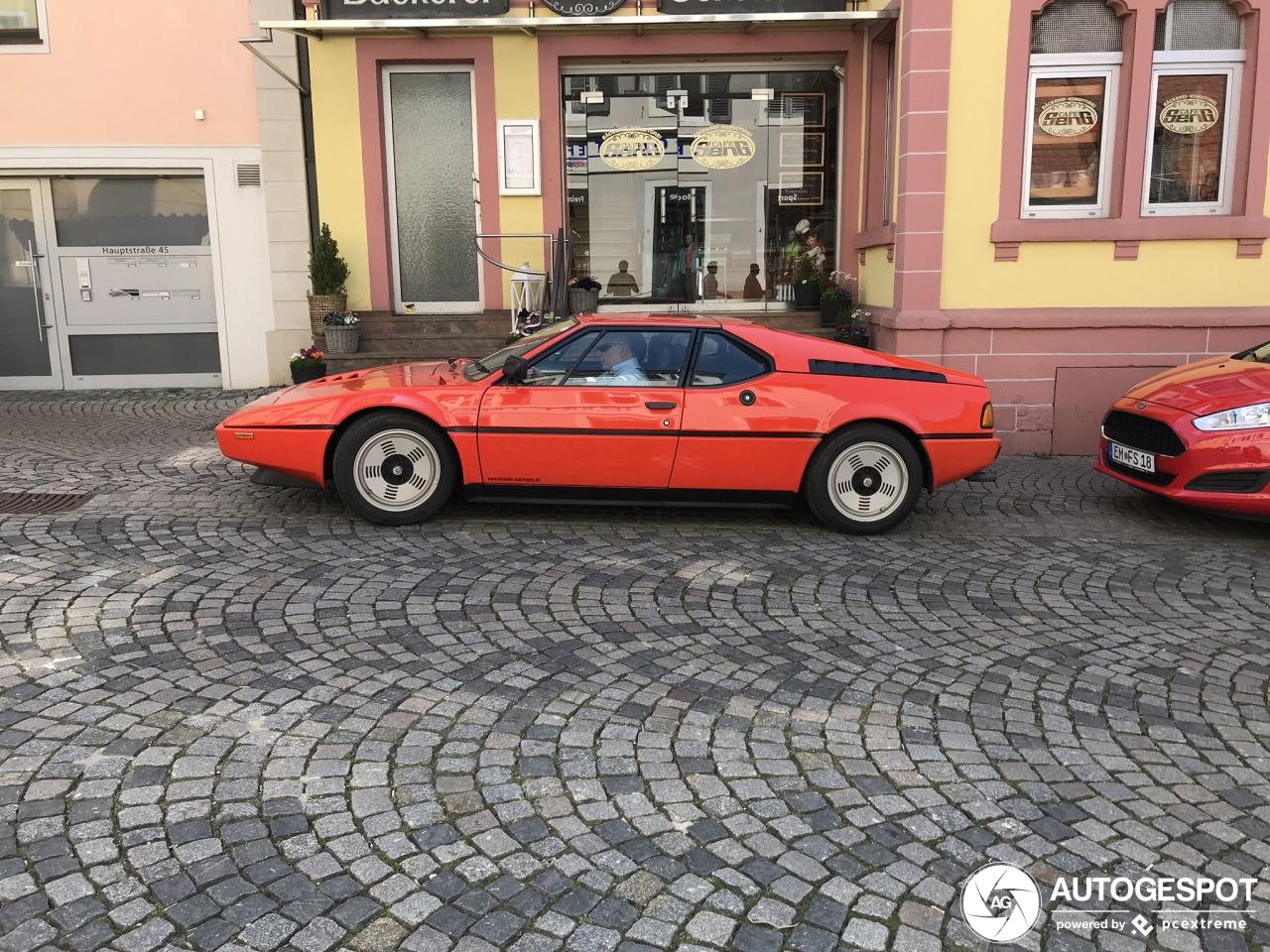 BMW M1 blijft heerlijke verschijning