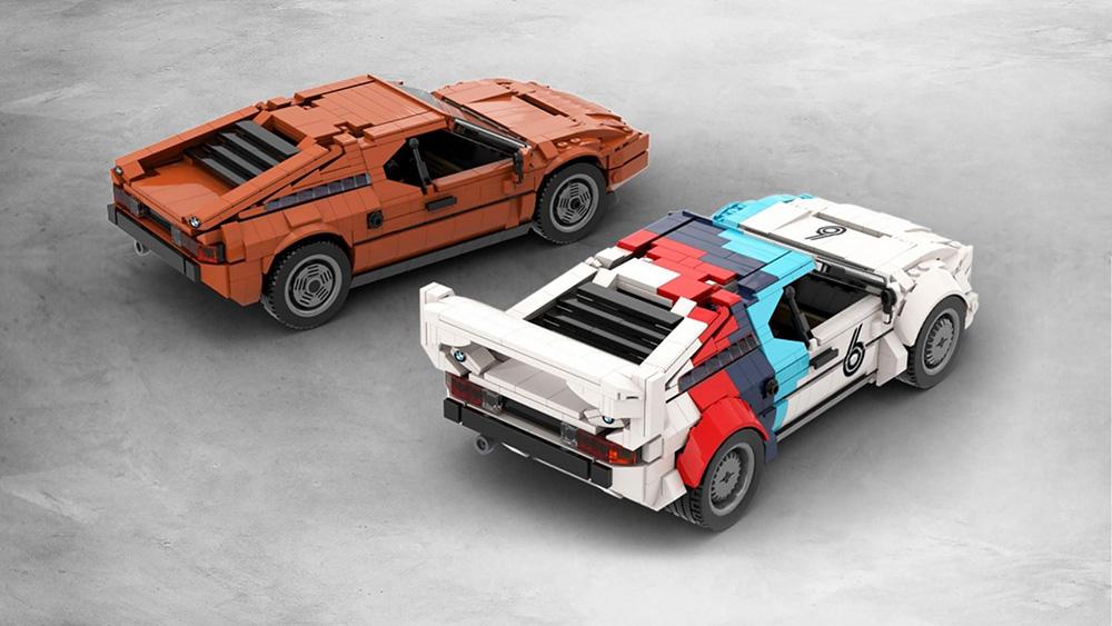 Help met het realiteit worden van de BMW M1 van lego