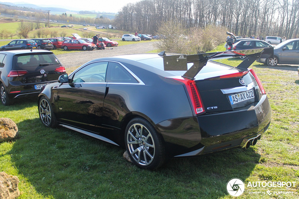 Spoiler alert! Cadillac CTS-V Coupé