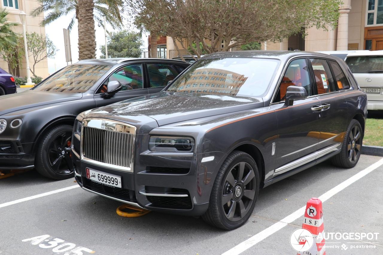 Rolls-Royce Cullinan verovert de Perzische Golf
