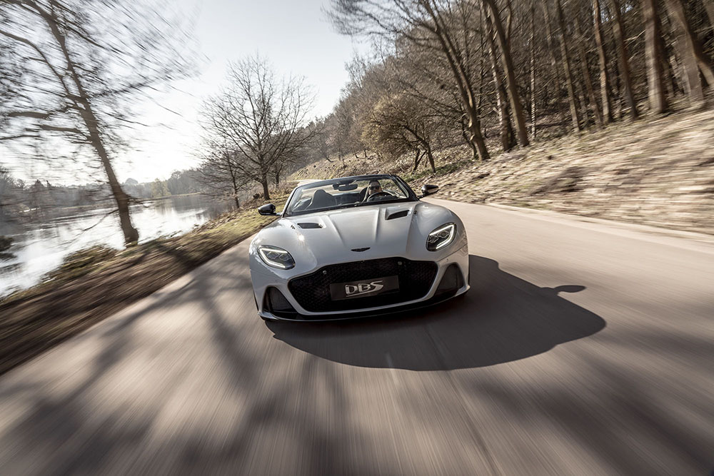 De Aston Martin DBS Superleggera Volante is hier!