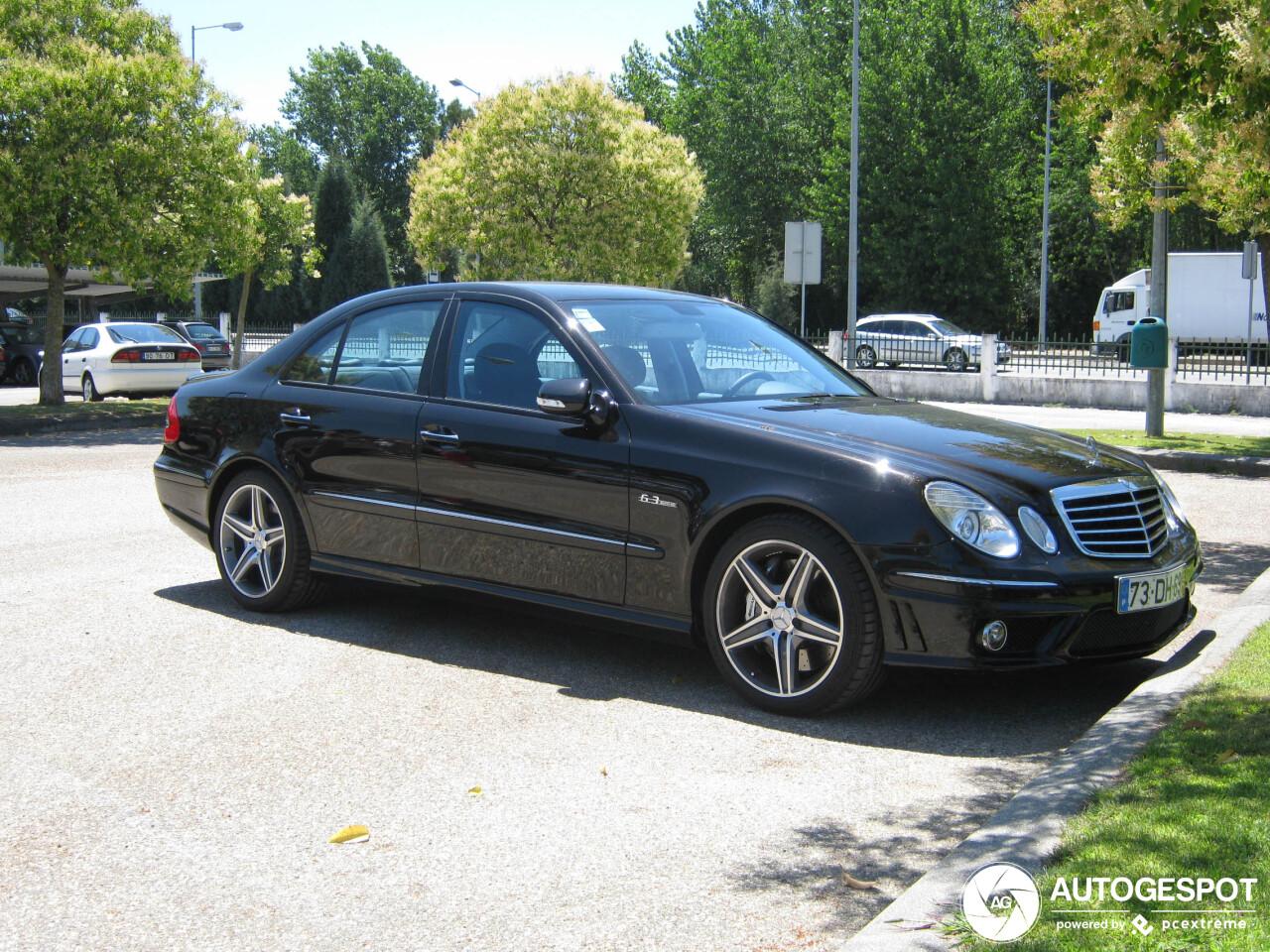Mercedes-Benz E 63 AMG valt nog steeds te waarderen
