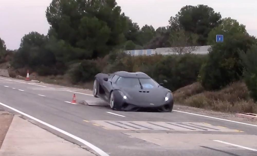 视频:科尼赛克 Regera 撞击测试