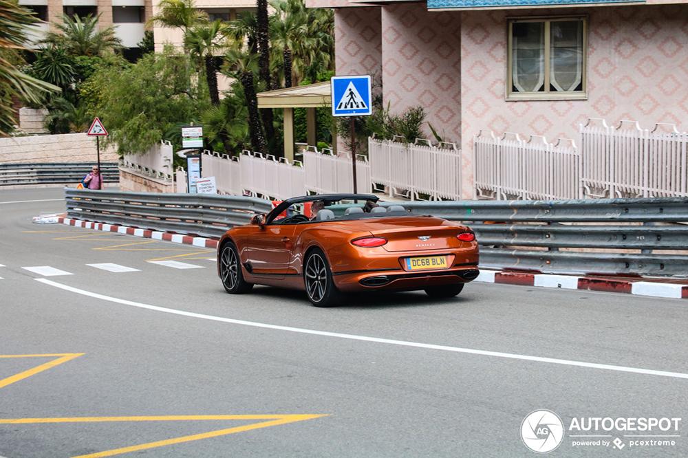 Van Sevilla naar Monaco: Bentley Continental GTC 2019