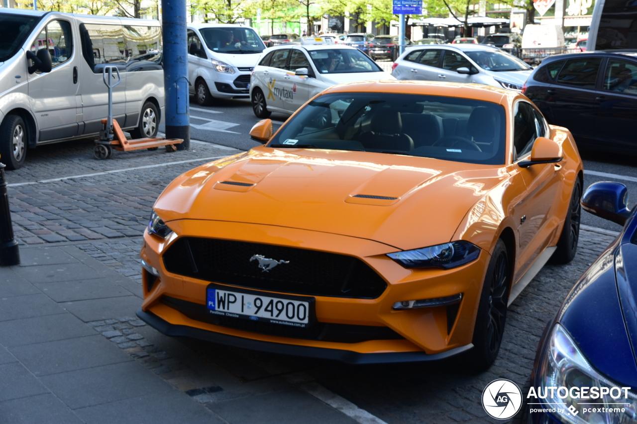 Polen houdt van de nieuwe Mustang GT