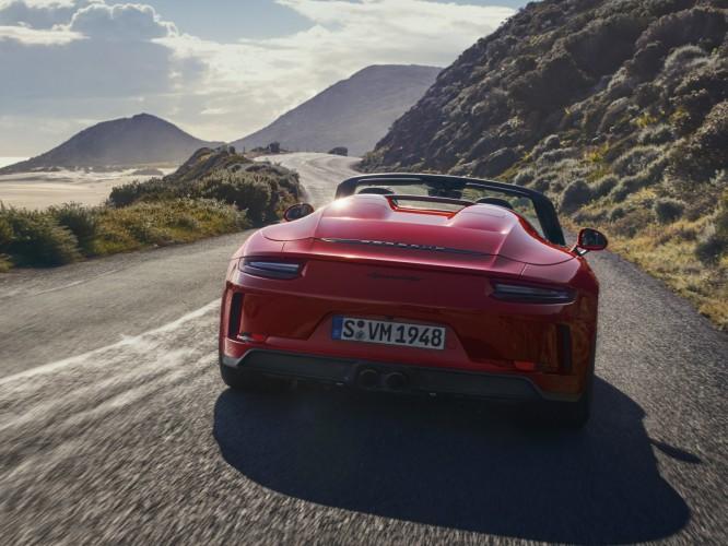 Daar is die dan: de Porsche 991 Speedster