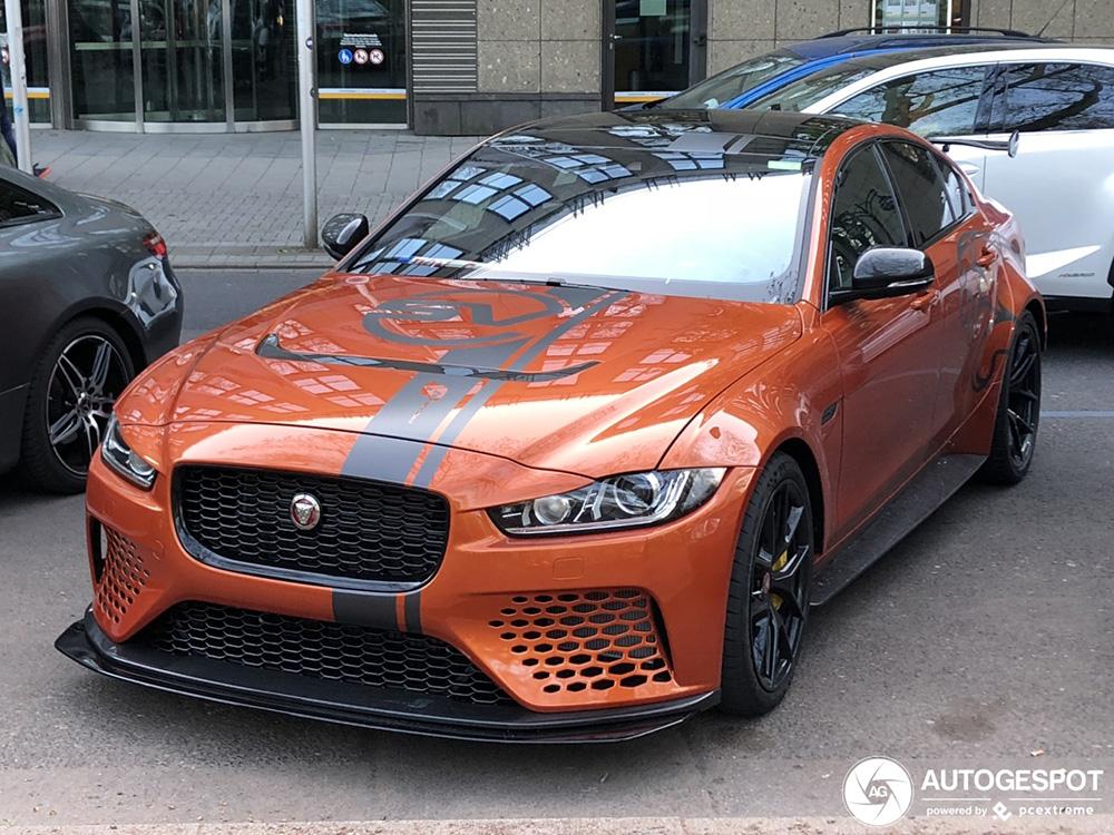 Topspot: Jaguar XE SV Project 8
