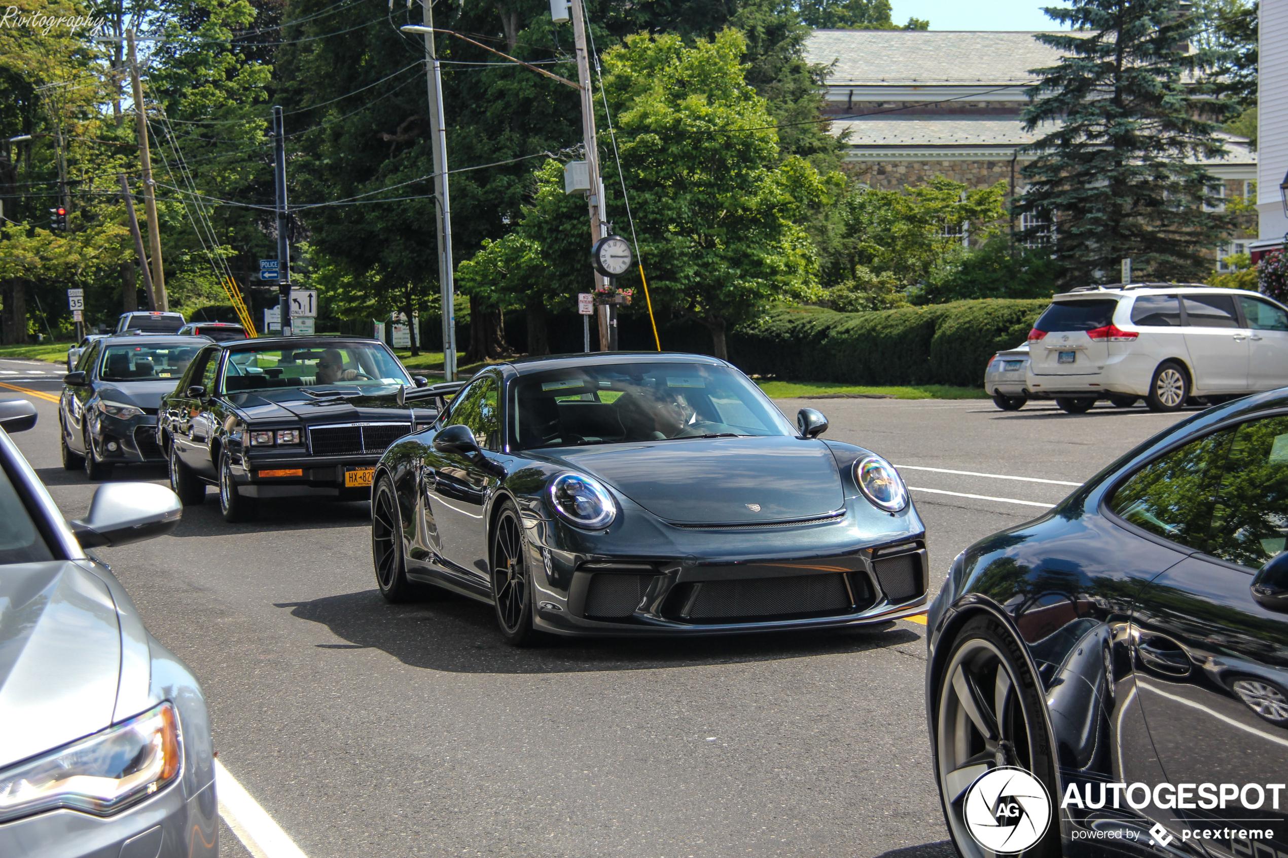 Fraai Porsche duo gespot in Ridgefield (CT)