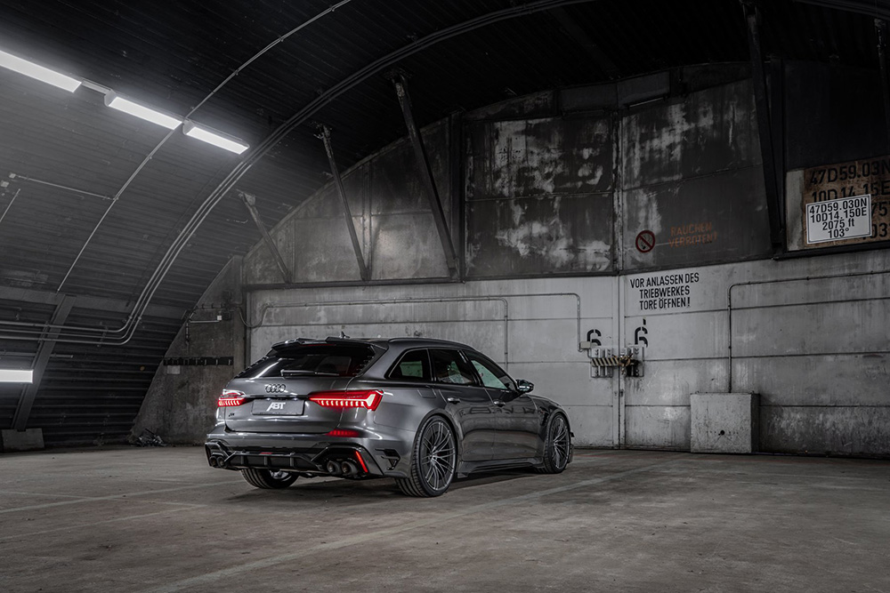 De koning is terug: ABT Audi RS6-R