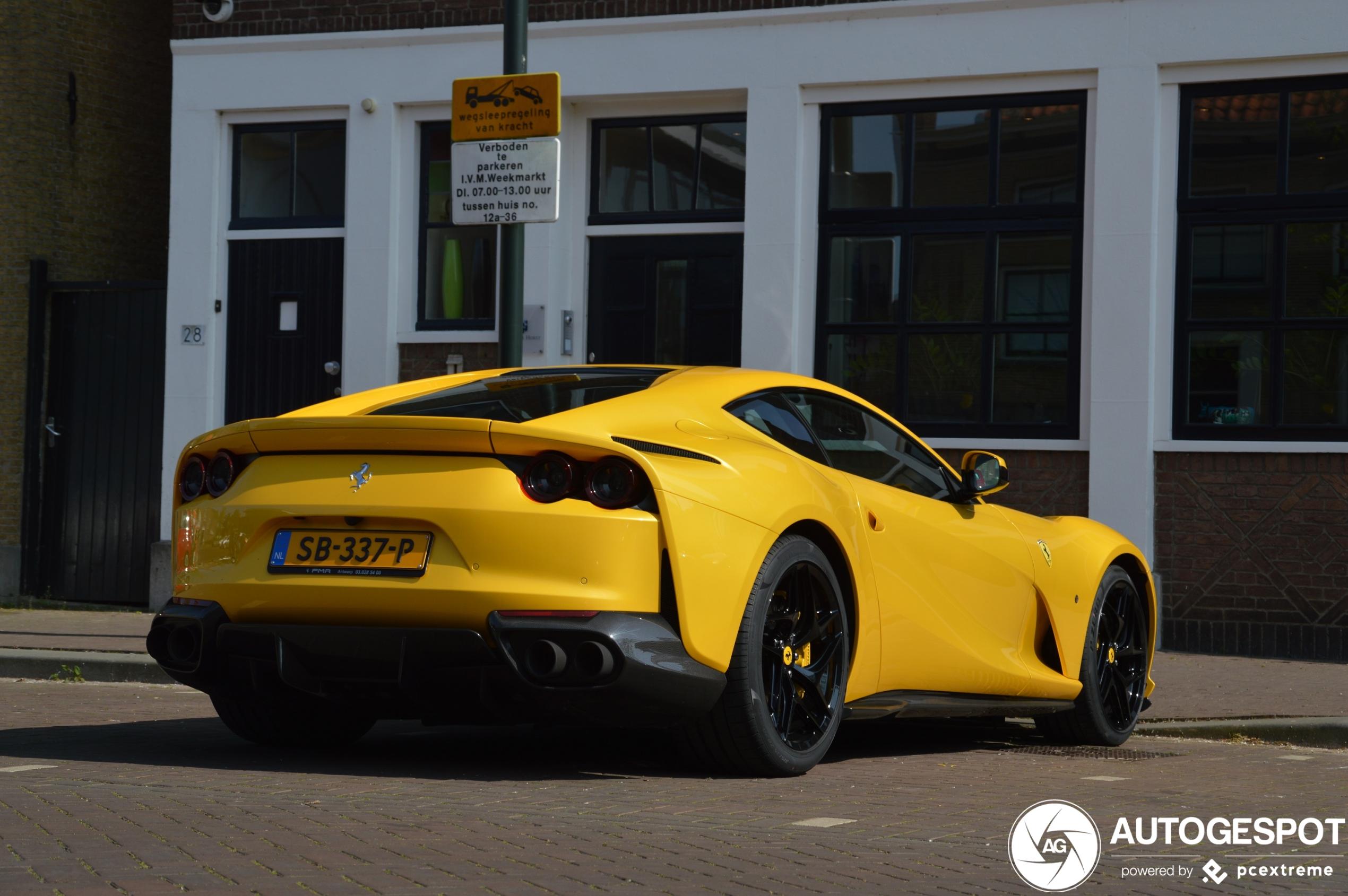 Spot van de dag: Ferrari 812 Superfast in Fijnaart