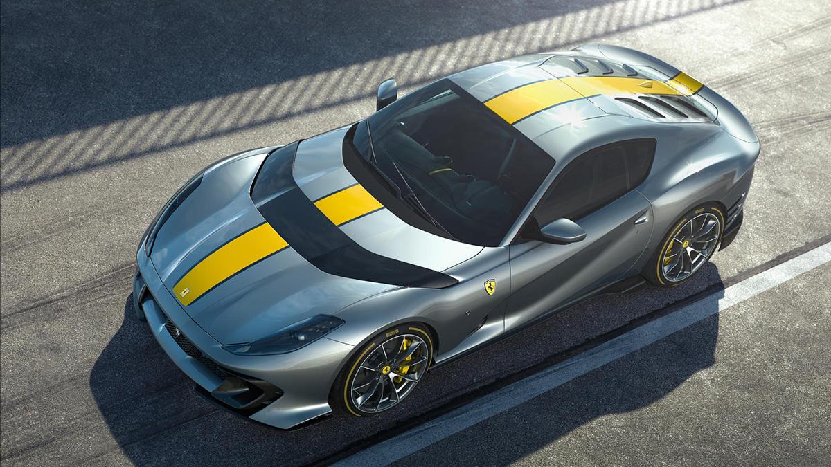 Begin mei komt Ferrari met gelimiteerde 812