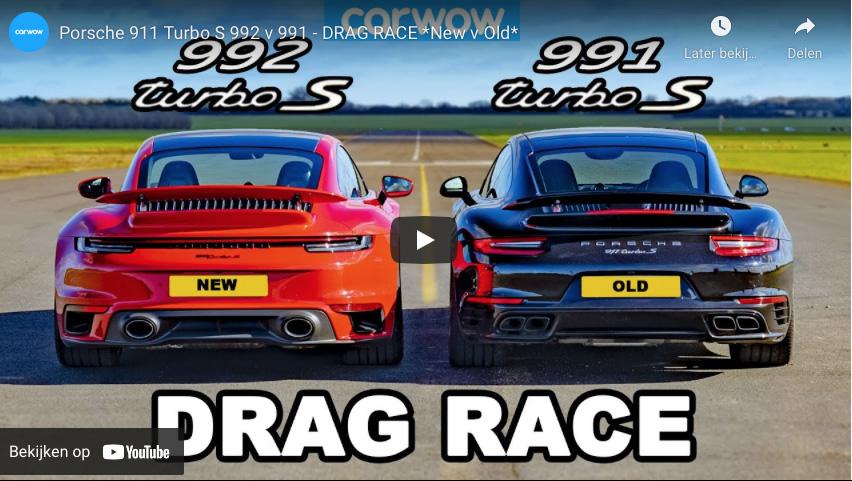 Nieuw tegen oud: Porsche 911 Turbo