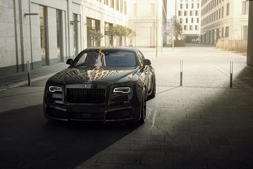 Rolls-Royce Wraith krijgt de Spofec Overdose behandeling