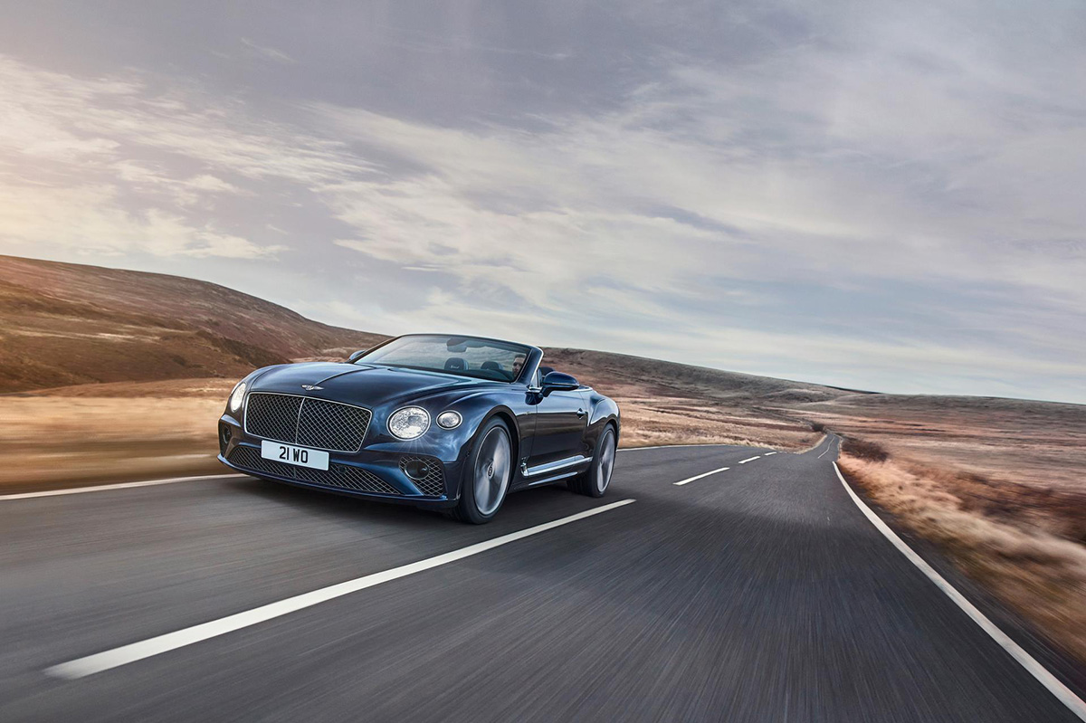 Bentley Continental GT Speed Convertible breaks cover for spring