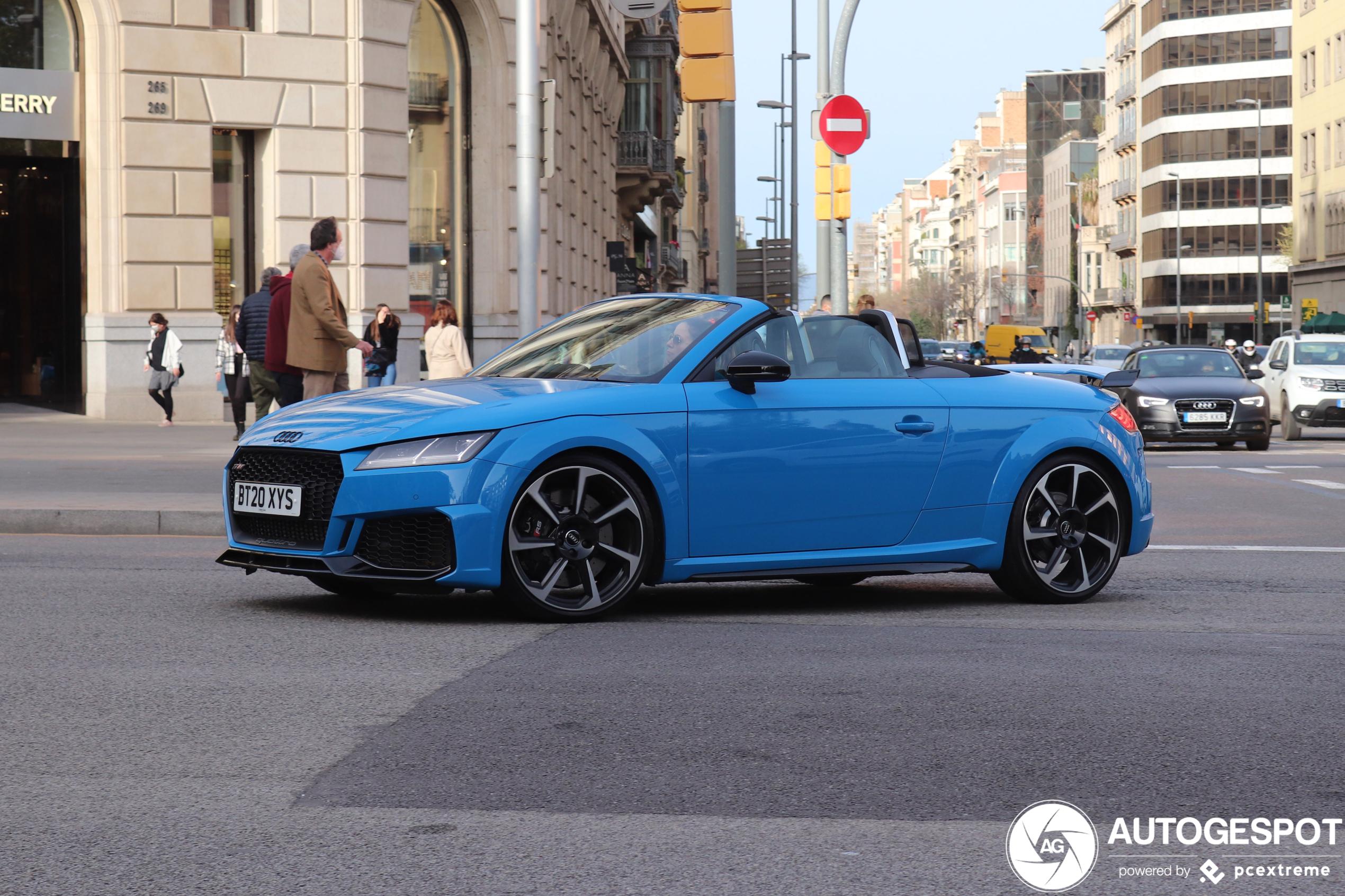 Perfect voor de vriendin: Audi TT RS Roadster