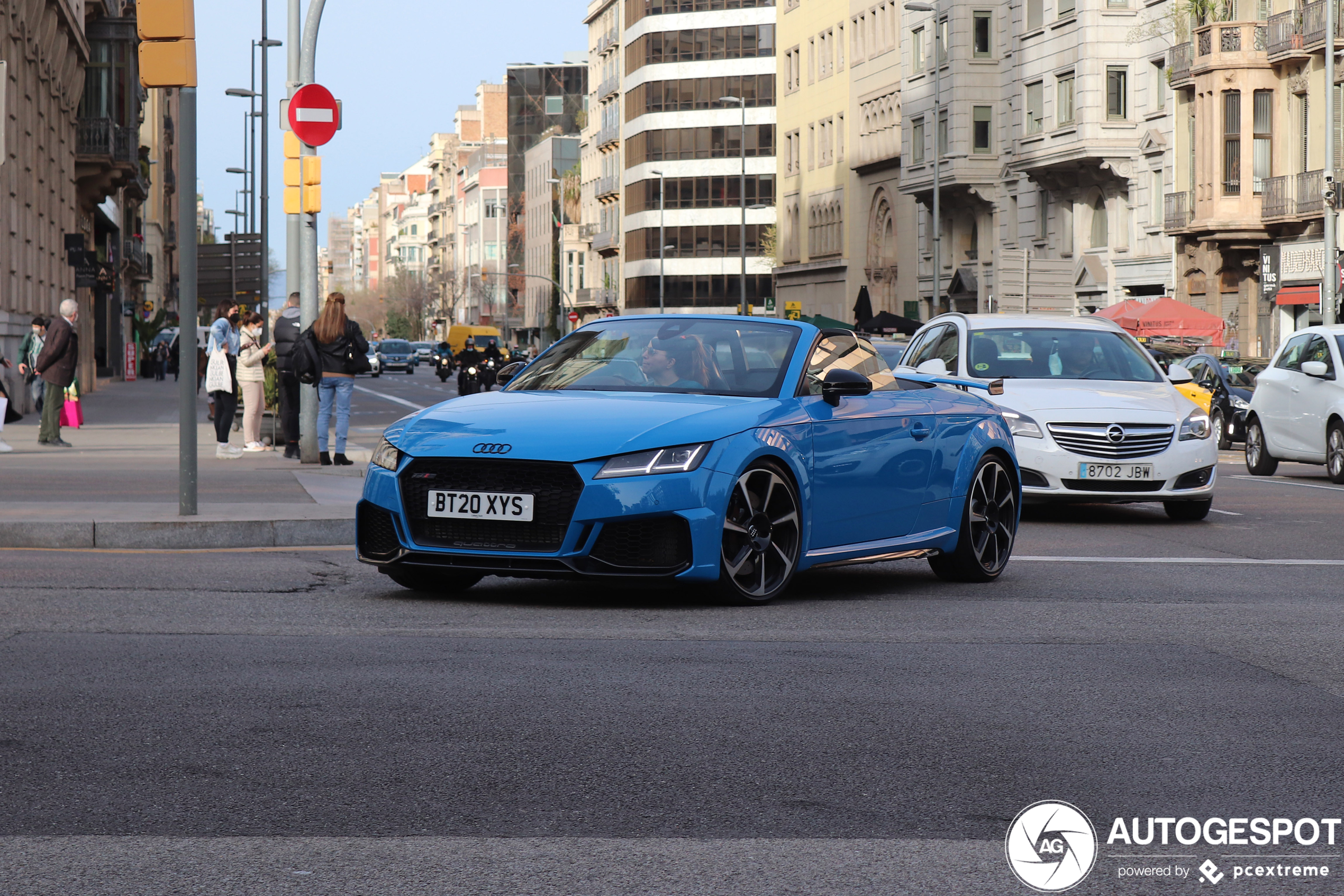 Perfect voor de vriendin: Audi TT RS Roadster