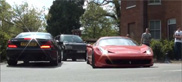Movie: Ferrari 458 Challenge has fun on the public roads