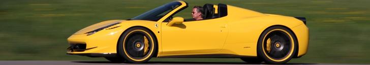 Haute Couture : la Ferrari 458 Spider selon Novitec Rosso
