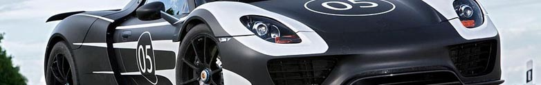 New pictures of the Porsche 918 Spyder