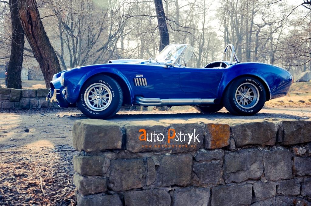 Fotoshoot: AC Cobra in Pools landschap