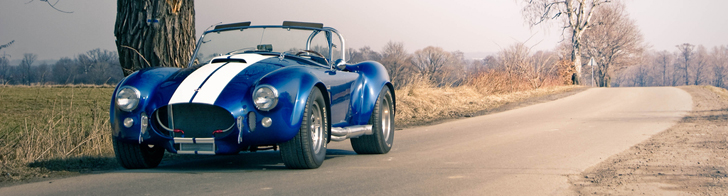 Photoshoot: AC Cobra in the Polish countryside