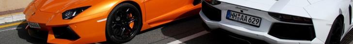 Beautiful colour: Lamborghini Aventador LP700-4