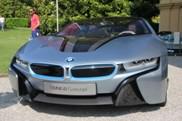 Villa d'Este: BMW i8