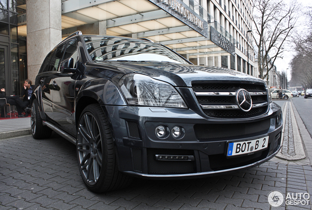 Brede gezinsauto: Brabus Widestar 6.1 GL