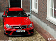 Amazing Mercedes-Benz C 63 AMG Coupé Black Series spotted in Amsterdam!