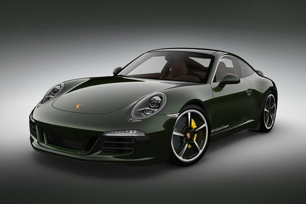 Alleen voor Porsche puristen: de 991 Club Coupé