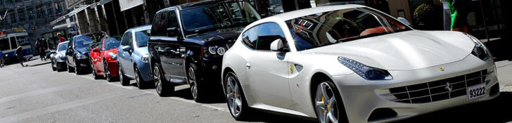 Sweet Ferrari FF spotted in a nice combo!
