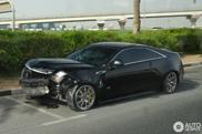 Crashed: Cadillac CTS-V Coupé