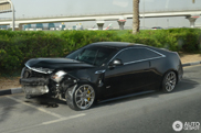 Crashed: Cadillac CTS-V Coupé