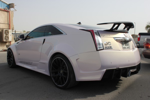 Dikke Cadillac CTS-V Coupé dankzij Differently Kit