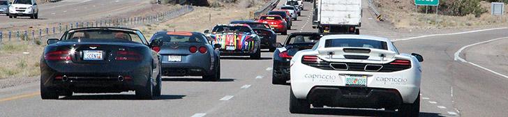 Gumball 3000 2012: daily report ten, Santa Fe to Las Vegas!