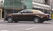 Beautiful colours on a Rolls-Royce Phantom Drophead Coupé