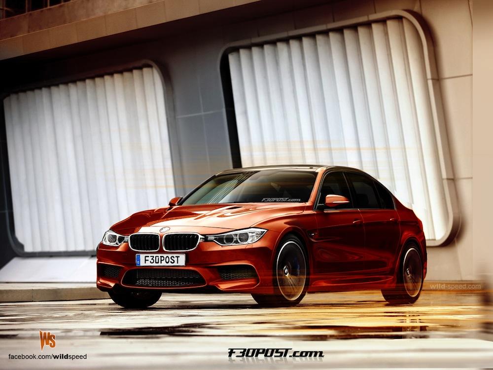 Rendering: wordt dit de nieuwe BMW M3 F80?