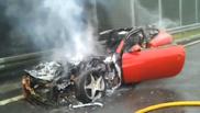 La Ferrari FF brûle bien, elle aussi !