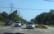 Lamborghini Gallardo krijgt ongelukje in Chicago