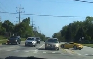Une Lamborghini Gallardo cause un accident à Chicago