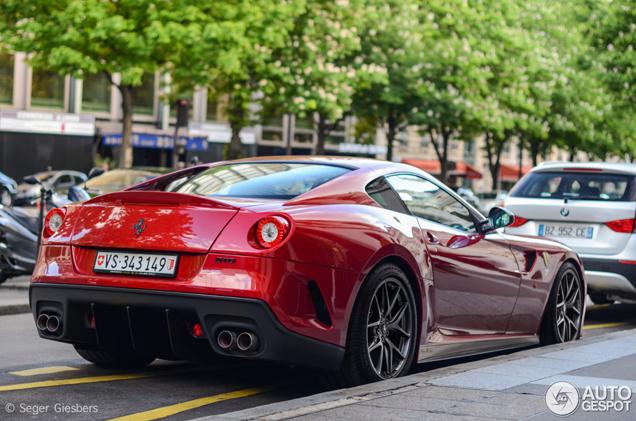 J'aime Paris: prachtige Ferrari 599 GTO gespot
