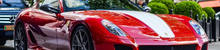 J'aime Paris: powerful Ferrari 599 GTO