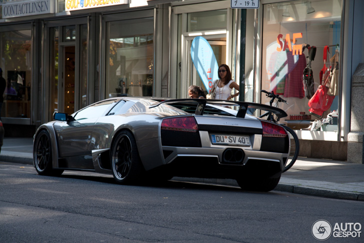 Bruut en woest: Lamborghini Murciélago LP640 IMSA