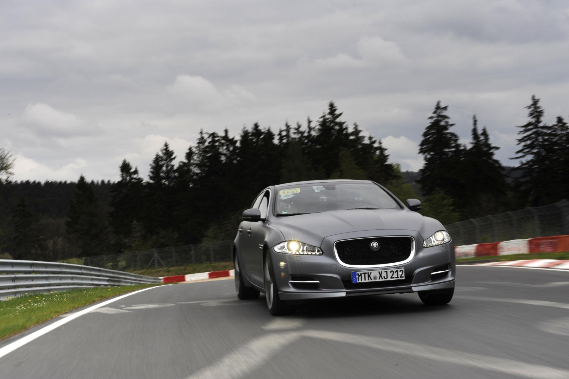 Nieuwe Nordschleife taxi: Jaguar XJ Supersport