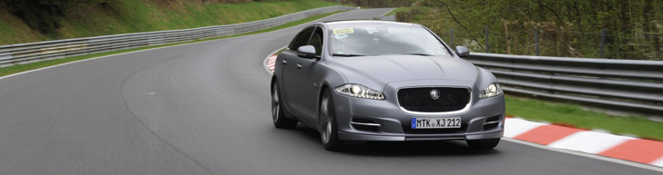 New Nordschleife taxi: Jaguar XJ Supersport