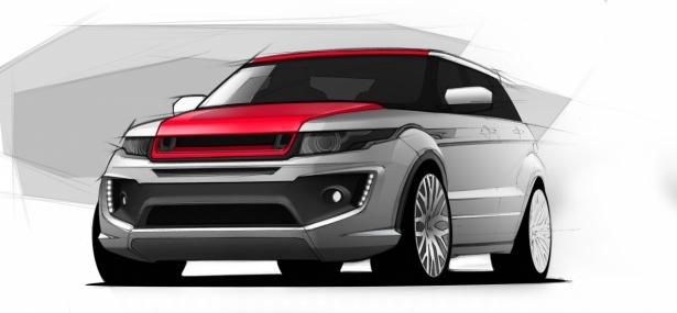 Project Kahn werkt aan lekker dikke Range Rover Evoque